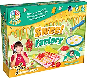 SCIENCE FOR YOU Science4You 399839 Sweet Factory Kit Educativo Ciencia Juguete Stem