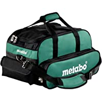 Metabo 657006000 - Borsa porta attrezzi, Nero/Verde, 46 x 26 x 28 cm