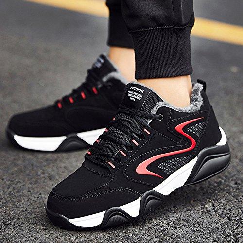 FEIFEI Scarpe da uomo per il tempo libero Tenere caldo cotone scarpe 3 colori ( Colore : 03 , dimensioni : EU39/UK6.5/CN40 ) 02