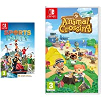 Animal Crossing New Horizons + Sports Party (Code in Box) (Nintendo Switch)