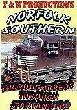 Thoroughbreds through Spartanburg by Norfolk Southern