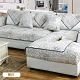 Engrosamiento algodón tela sofá toalla cubre sofa slipcover esteras para 1 2 3 4 cojines en ...