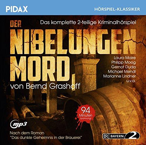 Pidax Hörspiel-Klassiker - Der Nibelungen Mord (Bernd Grashoff) BR 2000