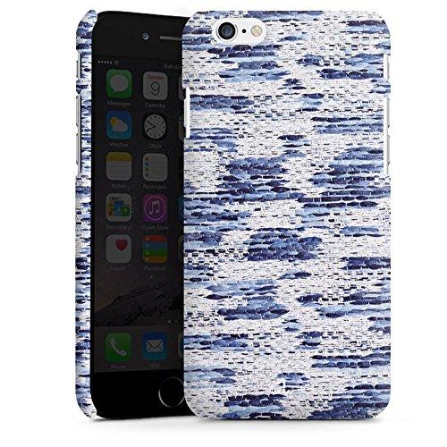 Apple iPhone X Silikon Hülle Case Schutzhülle Stoff Mode Muster Premium Case matt