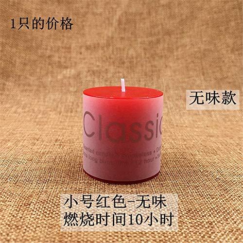 1 stück Dekorative Duft Aromatherapie Kerzen Für Geburtstag Hochzeit Valentinstag Festivals Home Party Dekoration 红色 无味 5×5cm