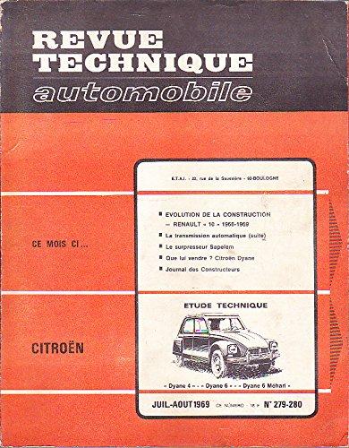 Descargar Libro RTA (revue technique automobile) n°279/280 - CITROEN