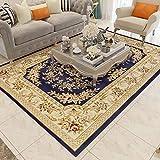 GRENSS Im europäischen Stil Wohnzimmer Teppich Sofa Couchtisch Amerikanischen idyllische Schlafzimmer mit Etagenbetten und Einem rechteckigen Maschine Waschen Home, 06 I, 06 B