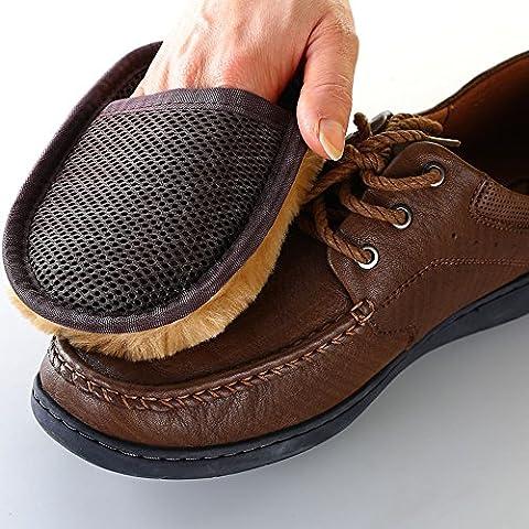 EQLEF® 1 PCS Cashmere cloth Dust Polishing rub for Leather clothing shoes handbags sofas