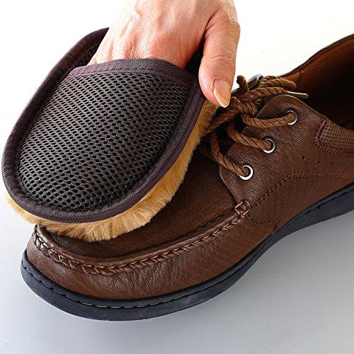 EQLEF® 1 PCS Cachemire panno polvere lucidatura strofinare per abbigliamento scarpe in pelle borse (Divano Borsa)