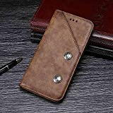 Manyip Case for Vivo V11 Pro, Leather Stand Wallet Flip