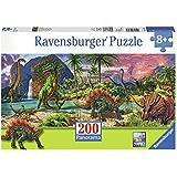Ravensburger 12747 - Im Land der Dinosaurier - 200 Teile Panorama-Puzzle
