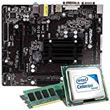 Intel Celeron J1900 / ASRock Q1900M Mainboard Bundle / 8192 MB | CSL PC Aufrüstkit | Intel Quad-Core J1900 4x 2000 MHz, 8 GB DDR3, Intel HD Graphics, GigLAN, 5.1 Sound, USB 3.1 | Aufrüstset | PC Tuning Kit