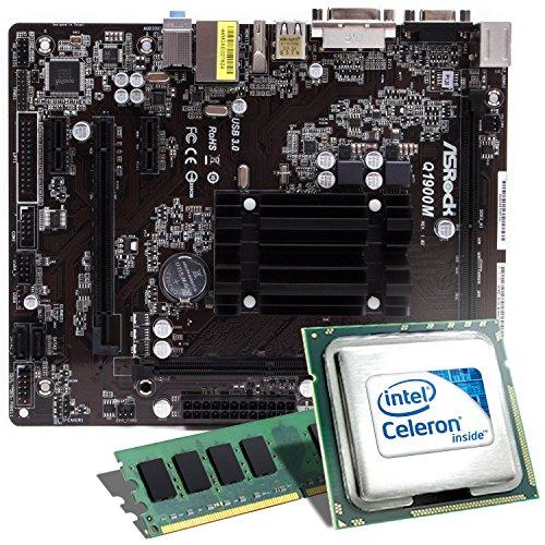 Kit Intel Celeron J1900 / Asrock Q1900M / 4096 MB