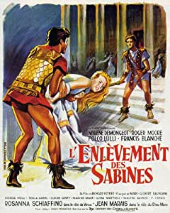 Romulus and the Sabines Affiche du film Poster Movie Romulus et les Sabines (11 x 17 In - 28cm x 44cm) Spanish Style A