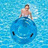XL Wasser Schwimm Reifen Schwimmring Poolsessel Badeinsel Pool Liege XXL 106cm