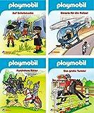 4er Playmobil 1-4 (Nelson Mini-Bücher)