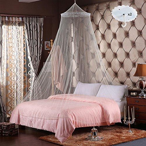RETON 2 Pcs Jumbo Mosquito Net elegante cama encaje