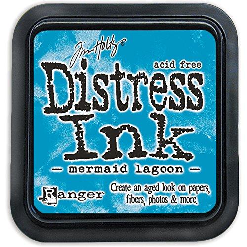 Ranger Tim Holtz Distress Ink Pad, Kunststoff, Mermaid Lagoon, 7.5 x 7.5 x 55 cm (Vintage Photo Distress Ink)
