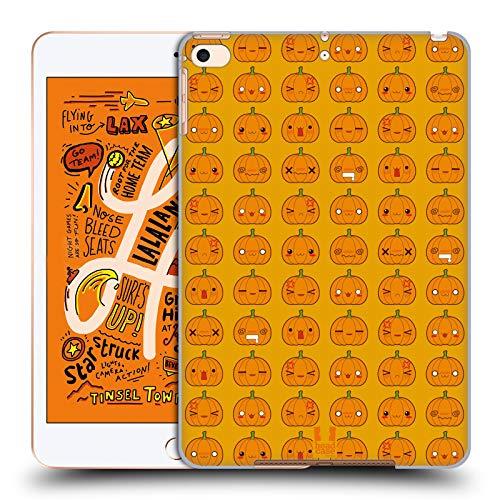 Head Case Designs Kürbis Muster Halloween Kawaii Harte Rueckseiten Huelle kompatibel mit iPad Mini (2019)