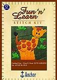 Anchor Stitch Kit - Cute Giraffe