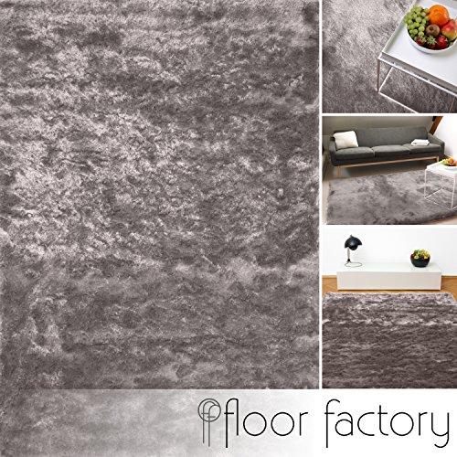 exklusiver-hochflor-shaggy-teppich-satin-silber-10x10-cm-muster-edler-seidig-glanzender-teppich