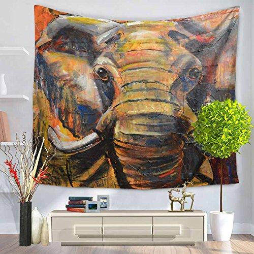 LoveTapestry Tapices De Tapicería Al Igual Que El Dormitorio De Dios Sala De Estar De Tela De Fondo Paño De Meditación Elefante Alfombra De Pared Tela Colgante,16,150X130cm
