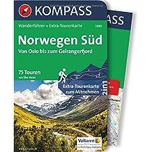 Norwegen Süd, Von Oslo bis zum Geirangerfjord: Wanderführer mit Extra-Tourenkarte 1:50.000-220.000, 75 Touren, GPX-Daten zum Download. (KOMPASS-Wanderführer, Band 5980)