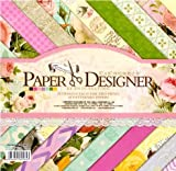 #9: Set of 40 Thick Beautiful Pattern Design Printed Papers for Art n Craft, Size: 8x 8 Inch ? 20 Unique