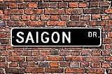 Metall Stree Saigon Schild Geschenk Saigon Besucher
