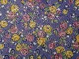 Minerva Crafts Floral Weave Lurex Brokat Kleid Stoff