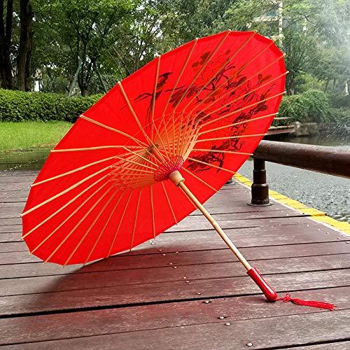 Kostüm Tanz Regenschirm - Brautaccessoires Regenschirme Sonnenschirme Handgemachte Seide Tanz Regenschirm Kostüm Fotografie Dekoration Requisiten Regenschirm @C
