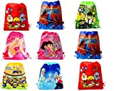 Best Kids Birthday Gifts - SR GIFTS Cartoon Printed Haversack Bag For Kids Review