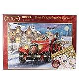 Jumbo 11068 - Falcon - Santa's Christmas Present 1000 Teile + Calendar 2015 500 Teile
