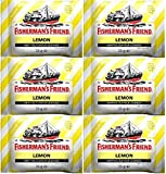 Fishermans Friend Sugar Free Lemon Lozenges 25g x 12 Packs