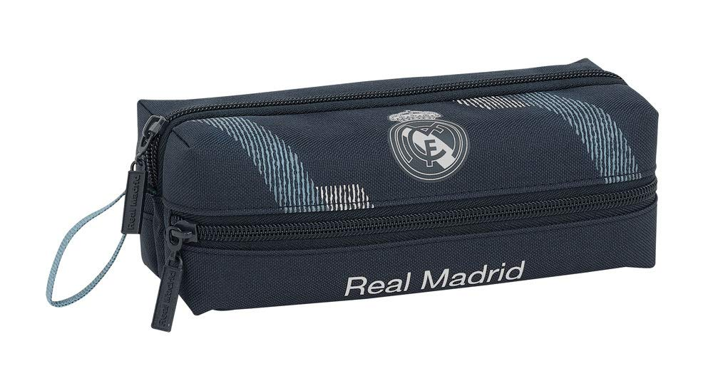 Safta- Portatodo 3 Cremalleras Real Madrid, Multicolor, Unica (811834823)