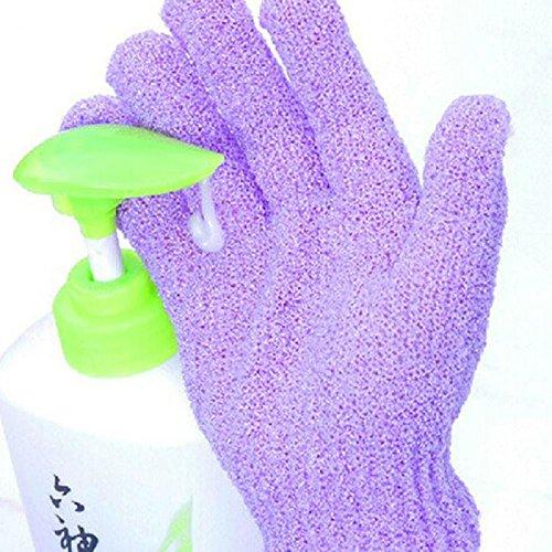 2Paar baokee Dusche Badetuch Handschuhe Peeling Handschuhe perfekt mit Dusche und Seife entfernen Horny Massage Funktion Handschuhe
