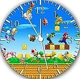 Super-Mario-Jeux-Horloge-murale-254-cm-joli-cadeau-et-de-Chambre-Dcoration-murale-Classeur