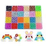 B-FUN Aquabeads,Water Craft Beads 24 Farben Sticky Perlen für Kinder DIY Basteln Pädagogische DIY Spielzeug (24 Farben) -