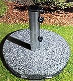 Granit Sonnenschirmständer 30 Kg