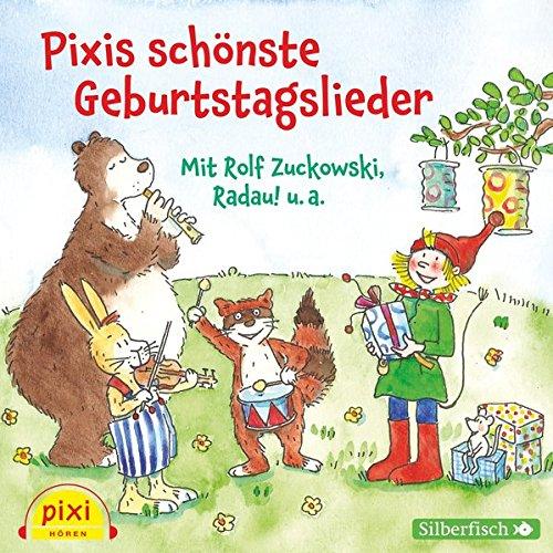 Pixis schönste Geburtstagslieder: 1 CD