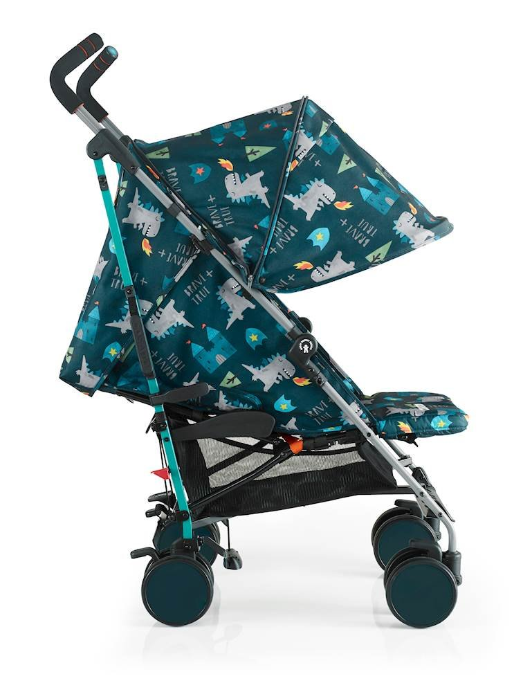 Cosatto Supa 2018 Baby Stroller, Suitable from Birth to 25 kg, Dragon Kingdom Cosatto Suitable from birth up to 25 kg stroller; umbrella fold lightweight aluminium chassis with carry handle and folded free-standing feature For added comfort Supa 2018 has an integral upf100+ extended hood; one handed four position seat recline and adjustable calf support Supa 2018 has everything you need: Spacious storage basket, co-ordinating fleece lined footmuff, reversible washable liner, chest pads and recent born head hugger, rain cover and handy cup holder 3