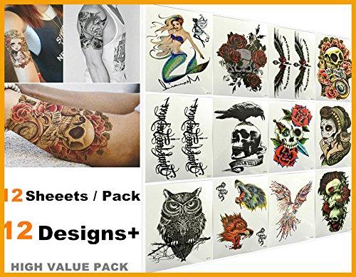 nuovo-arrivo-love-nest-12-fogli-pack-adatti-migliori-disegni-impermeabili-body-art-braccio-tatuaggi-