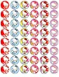 48 Hello Kitty Cupcake Toppers