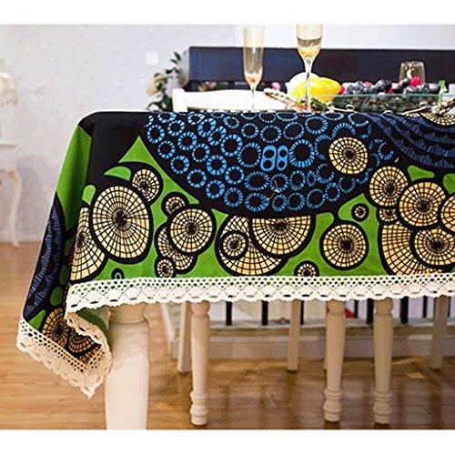 QZZ Nappes Lace Side Of The Table Tissu de napperon de lin populaire (taille : 140 * 220cm)