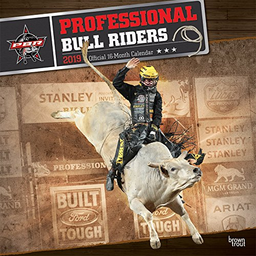 Professional Bull Riders - Professionelle Bullenreiter 2019 - 18-Monatskalender: Original BrownTrout-Kalender por Inc. Browntrout Publishers