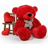 HUG 'N' FEEL SOFT TOYS Teddy Bear 5 feet Soft Toy | Birthday Gift for Girls/Wife, Boyfriend/ Husband | Soft Toys Wedding/Anni