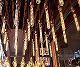 Lanlan Stahlrohr Nostalgie 8W Filament Antik Glühbirne Home Lampe Beschläge Vintage Edison-Birne E27