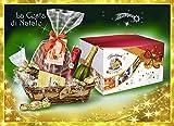 Idea Regalo di Natale - Cesto di Natale Artigianale - Cesto Natalizio - Cesti Natalizi - Cesta di Natale con Panettone o...