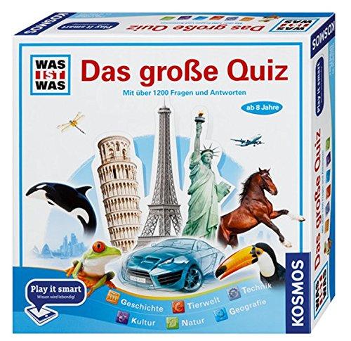 Preisvergleich Produktbild WAS IST WAS - Das große Quiz - Play it smart