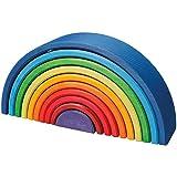 Grimm's Spiel und Holz Design Regenbogen 10 teilig, invertiert